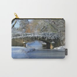 Winter at Lady's Bridge Carry-All Pouch
