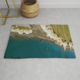 Natural beauty - Governors beach, Cyprus Rug