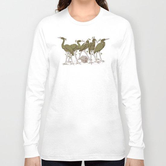 Bird Forest Long Sleeve T-shirt