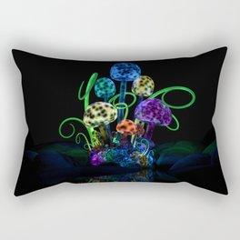 Magical Mushrooms Rectangular Pillow