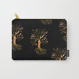 Whimsical Tree Pattern Carry-All Pouch