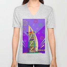 Al buruj Tower Unisex V-Neck