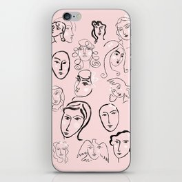 Faces iPhone Skin