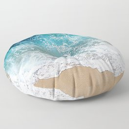 Ocean Waves I Floor Pillow
