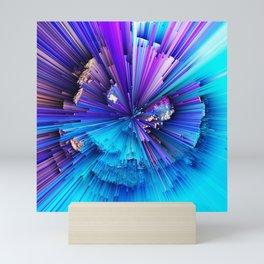 Interference - Abstract Art Mini Art Print