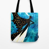 dreamcatcher Tote Bags featuring Dreamcatcher by Verismaya
