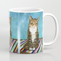 flora Mugs featuring Flora by gretzky