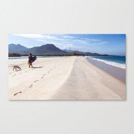 surfEXPLORE Sierra Leone Canvas Print