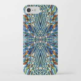 Abstract X Six iPhone Case