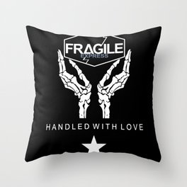 Death Stranding - FRAGILE Xpress Throw Pillow