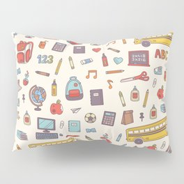 Back to school Pillow Sham