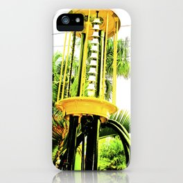 The hostility of the world. iPhone Case