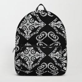 Victorian Gothic Holiday Wallpaper Backpack