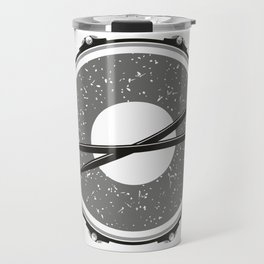 Drum with drumsticks Travel Mug
