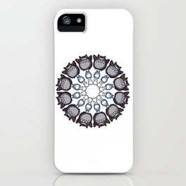 Anime Mandala iPhone Case