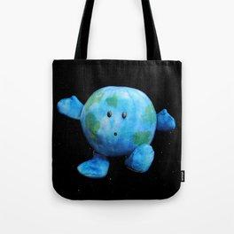 Zero-G Indicator - Earth Plush Tote Bag