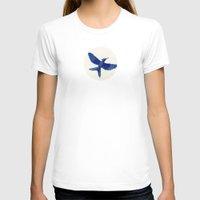 mockingjay T-shirts featuring Mockingjay Mockingjay by Blanca MonQnill Sole