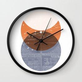 Eclipse I Wall Clock