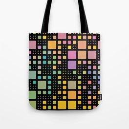 Pop Squares Tote Bag