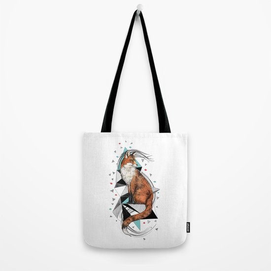 Foa the Fox Tote Bag
