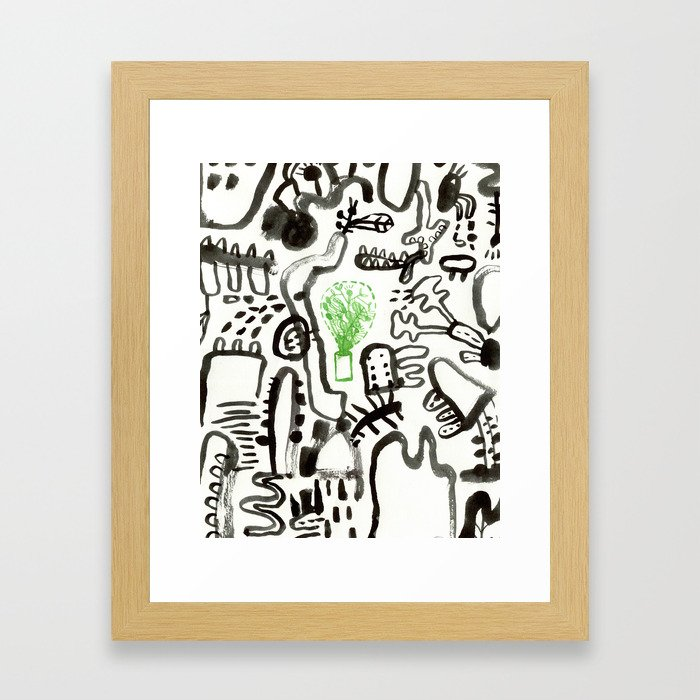 Imaginary Worlds 3 Framed Art Print