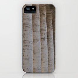 Columns iPhone Case
