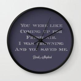 You Wall Clock