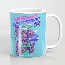 Werewolf Beach Frisbee Coffee Mug