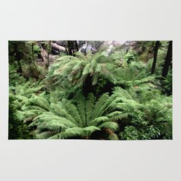 Ferns & Waterfall Rug