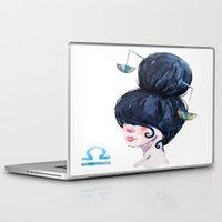 libra Laptop & iPad Skins featuring Libra by Aloke Design