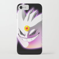 gengar iPhone & iPod Cases featuring Mega-Gengar by R-no71