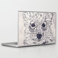 puppy Laptop & iPad Skins featuring Puppy by echoes