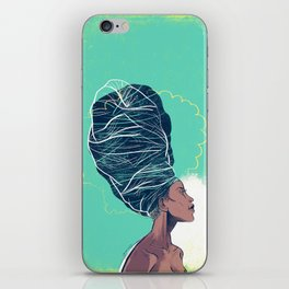 Erykah Badu iPhone Skin