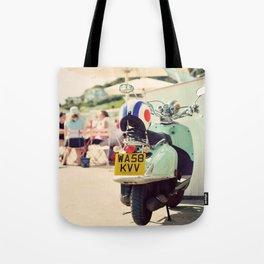 Vintage Vespa ♥ Tote Bag