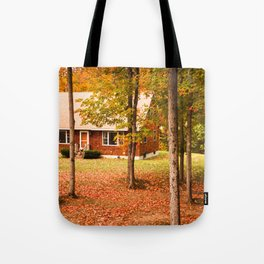 home in vermont Tote Bag