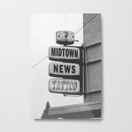 Midtown News Metal Print