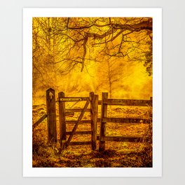 Gateway to Nowhere Art Print