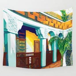 Hotel in Marrakesh Wall Tapestry