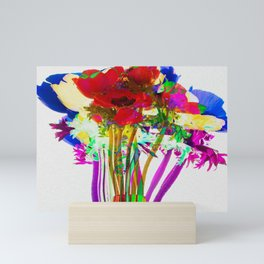 Belle Anemoni or Beautiful Anemones Mini Art Print