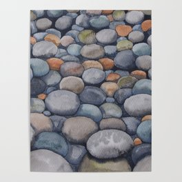 Watercolour relaxation Poster