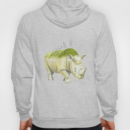rhinoceros  Hoody