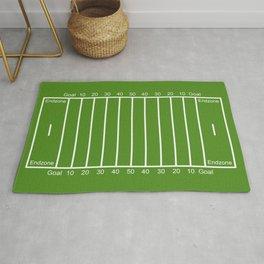 Football Field design Rug