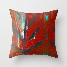 Tribal Flair Throw Pillow
