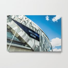Up The Spurs Metal Print