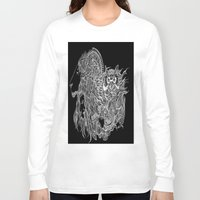courage Long Sleeve T-shirts featuring Courage~  by AnyaJocson