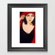 Yui Framed Art Print