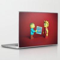 wreck it ralph Laptop & iPad Skins featuring Ralph & Lisa by Studio Ten Media