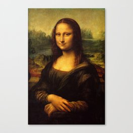 Mona Lisa - Leonardo da Vinci Canvas Print