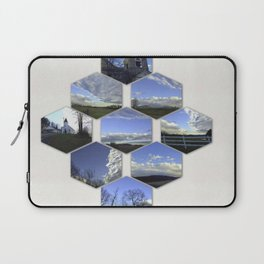 A Collage Of Winter In Frederick Maryland Laptop Sleeve