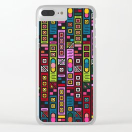 Baby Circuit Board Clear iPhone Case